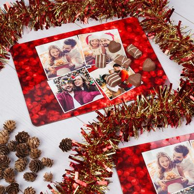 Personalized placemats for Christmas gift ideas