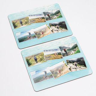 Montage design photos placemats