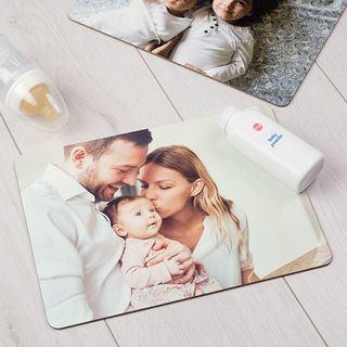 Set de table photo de bébé