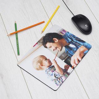Tapis de souris avec photo enfant