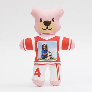 Sports photo teddy bear