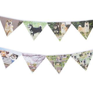dog party photo bunting