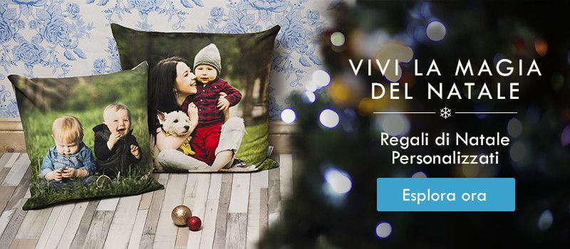 Esplora la nostra collezione di regali di Natale personalizzati