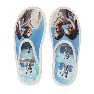 Holiday personalised slippers design