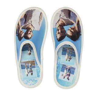 Holiday photo slipper design