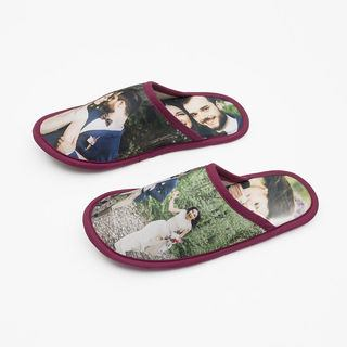 design your own slippers for wedding or honeymoon