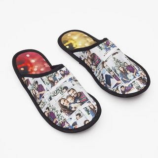 Design your own photo montage slippers