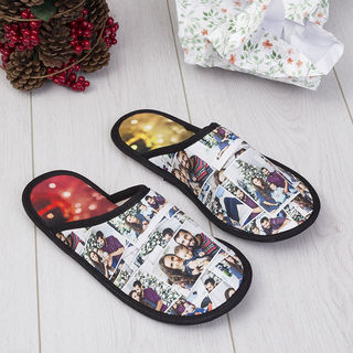 zapatillas de estar por casa con fotos