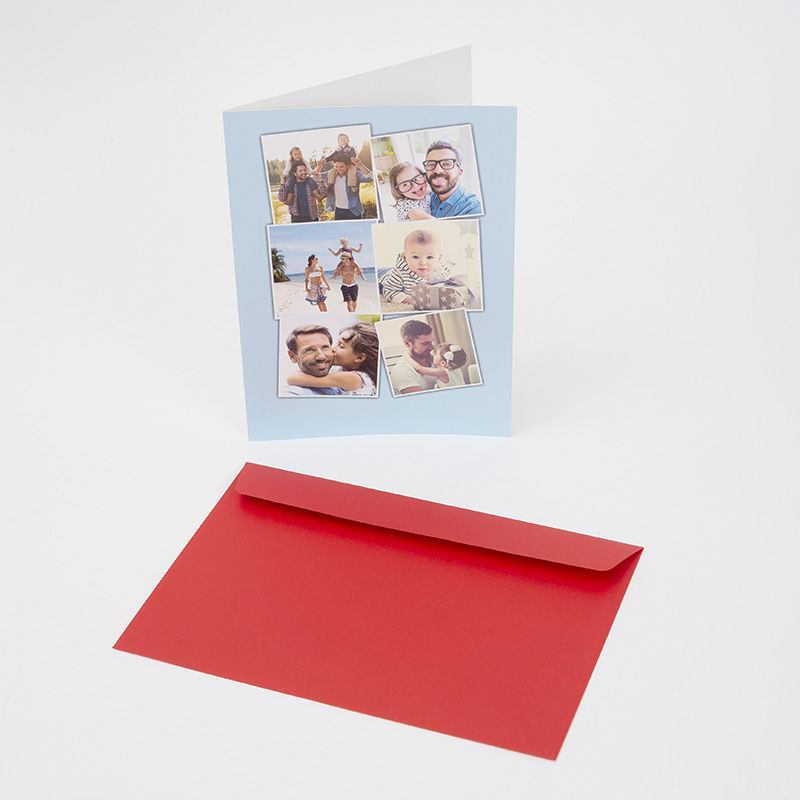 Personalised card printing large a4 personalised cards large cards personalised and presented in red envelope negle Image collections