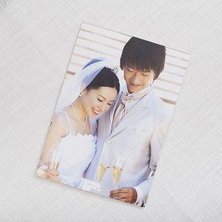 congratulations card with your photos