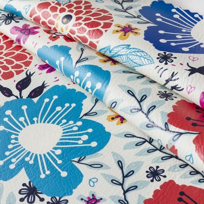 leatherette fabric printing