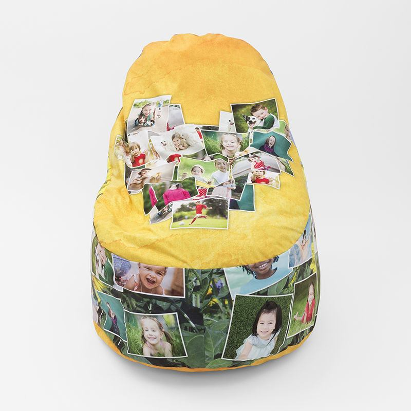 Custom Bean Bags With Photos Personalized Bean Bag Chairs