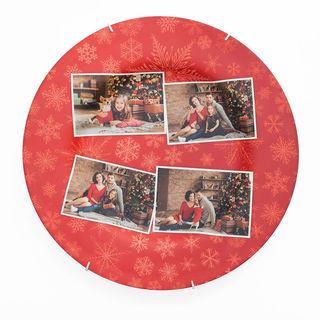 Christmas Decorative plate serving platter