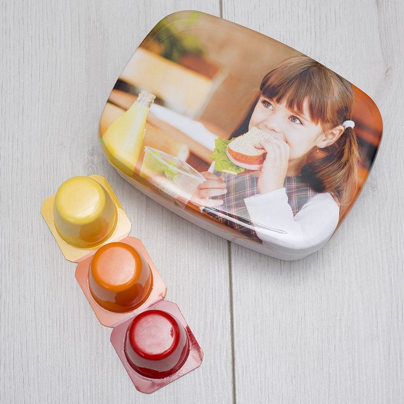 Children's snack Personalised Lunch Box