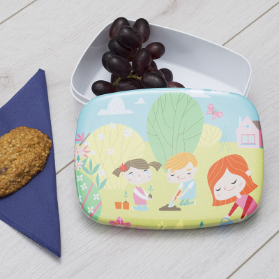 custom lunch box printed for children