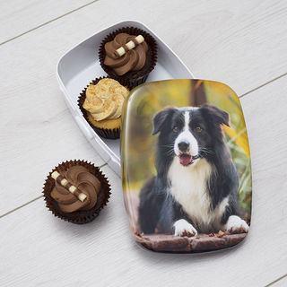 Pet photo printed Custom Lunch Box