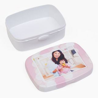 Children's Lunchbox lid and box