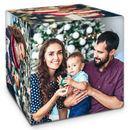 Cube personnalisé avec photo famille