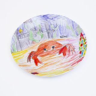 platos personalizados divertidos para bebes