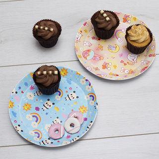 platos personalizados para bebes