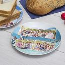 Family personalised party plates