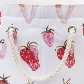 Rope handles laundry bag designs