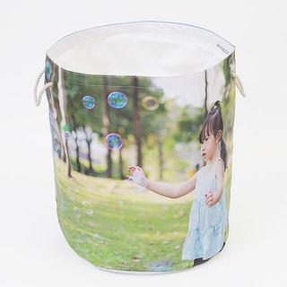 Personalised photo design laundry bag