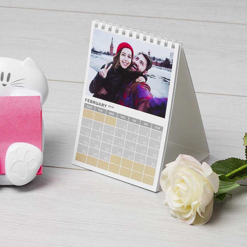 Personalised Calendar 2018