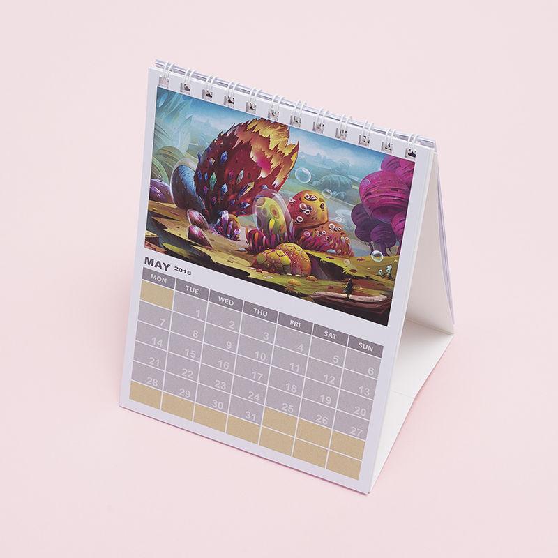 custom desk calendar make your own monthly desk calendar made in