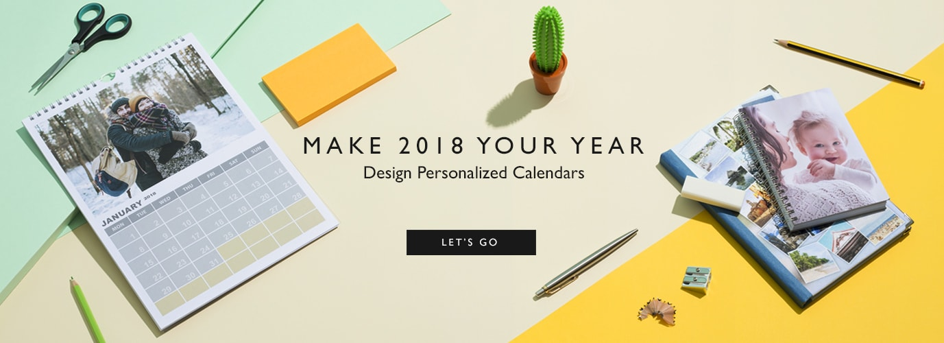 photo gifts with personalized calendars