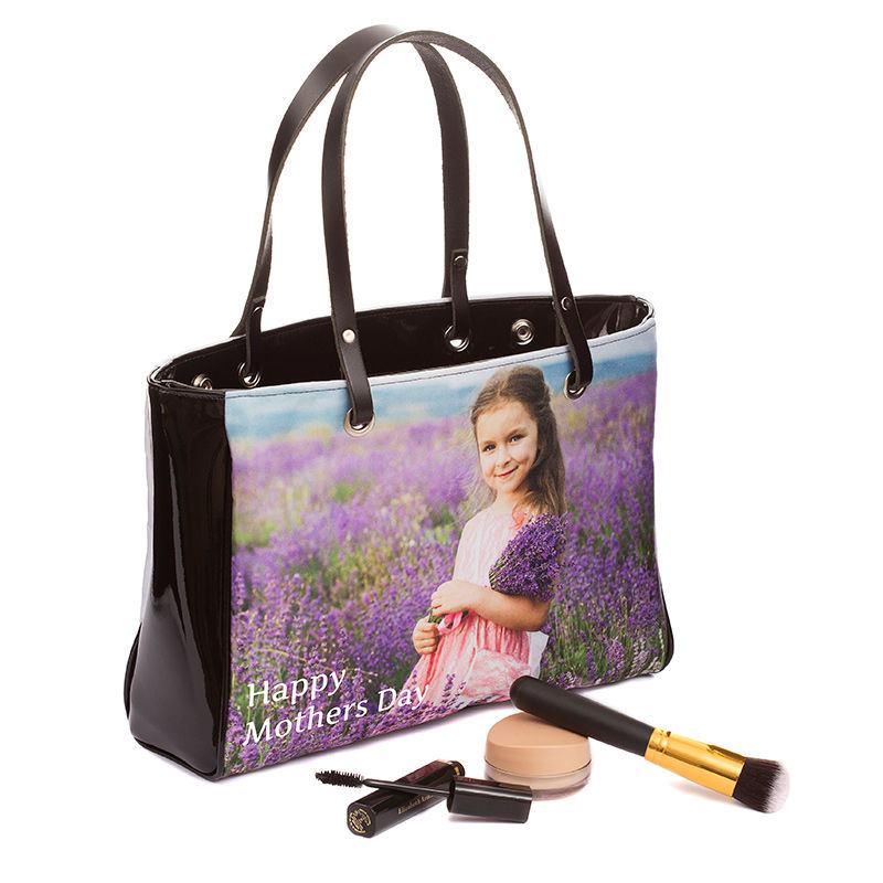 kid photo handbag