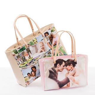 Handtasche bedrucken lassen Foto