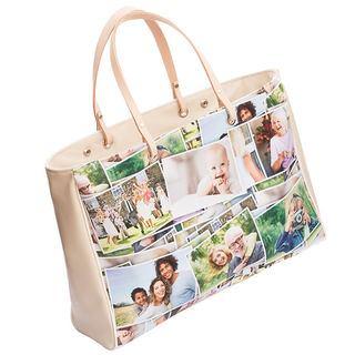 Handtasche mit Fotocollage bedrucken lassen