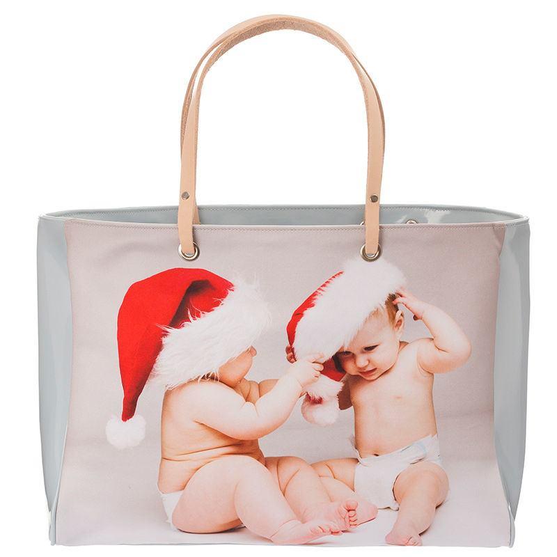 baby photo handbag