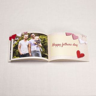 Father's Day love book photo print