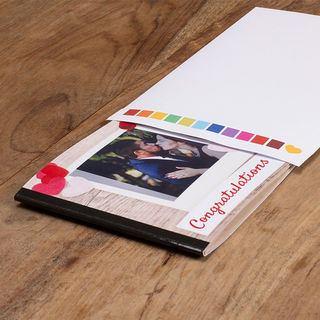 Love photo book paper in envelope