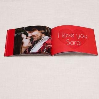 Valentine's Day love photo book