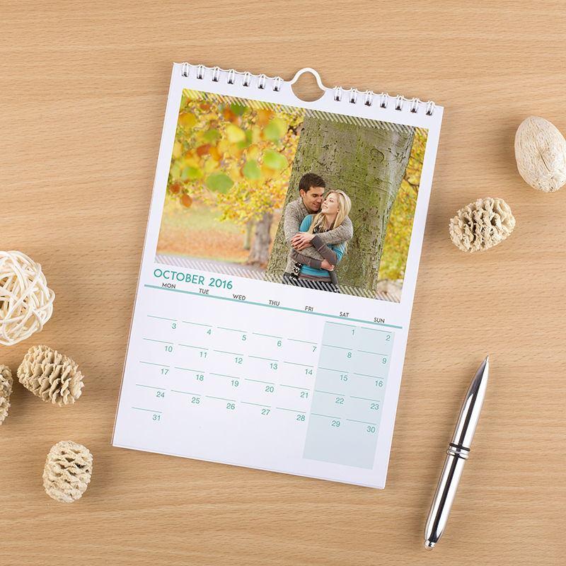 Calendario personalizzato con foto calendari da muro online 12 mesi - Calendari da tavolo con foto ...