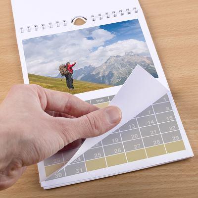 Calendario con foto