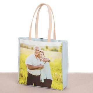 shopping bags personalizzate con foto genitori