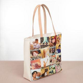 photo montage shopper bag