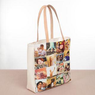 stampa borse shopping personalizzate con collage foto