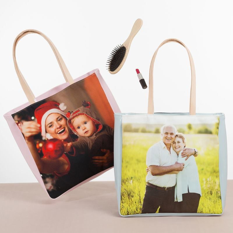 personalised shopper bag