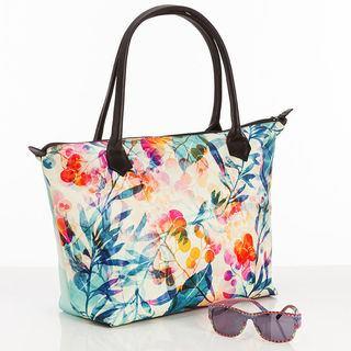 Personalized Zip Top Handbag