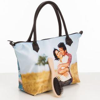 Custom Designed Zip Top Handbag