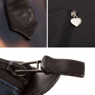 sac zippé vue de près