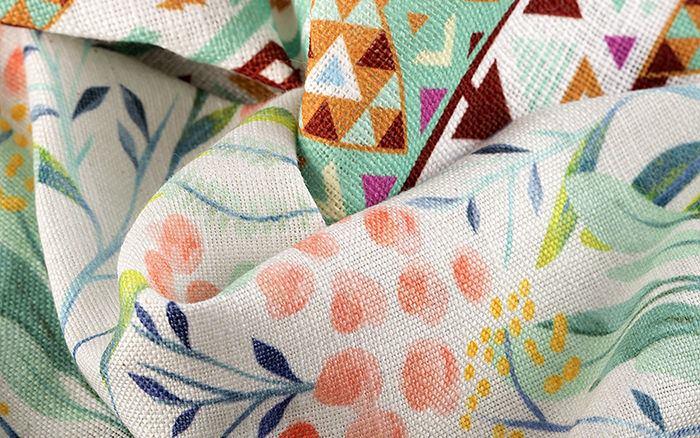 impression textile num rique pour tissu personnalis. Black Bedroom Furniture Sets. Home Design Ideas