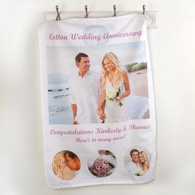 2nd Anniversary Tea Towel