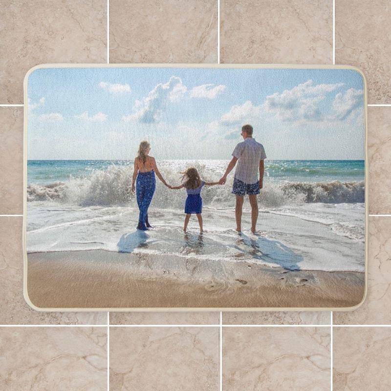tappetini da bagno personalizzati con foto famiglia