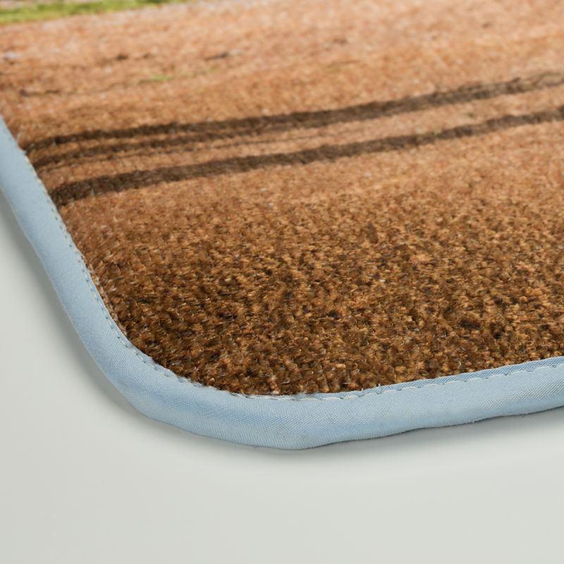 dettaglio bordo tappetino bagno